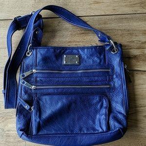 Dark blue crossbody bag